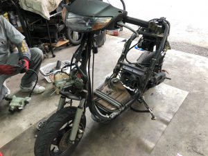 ライブディオAF34 ポンつけボアアップキット!プロトタイプテスト車両