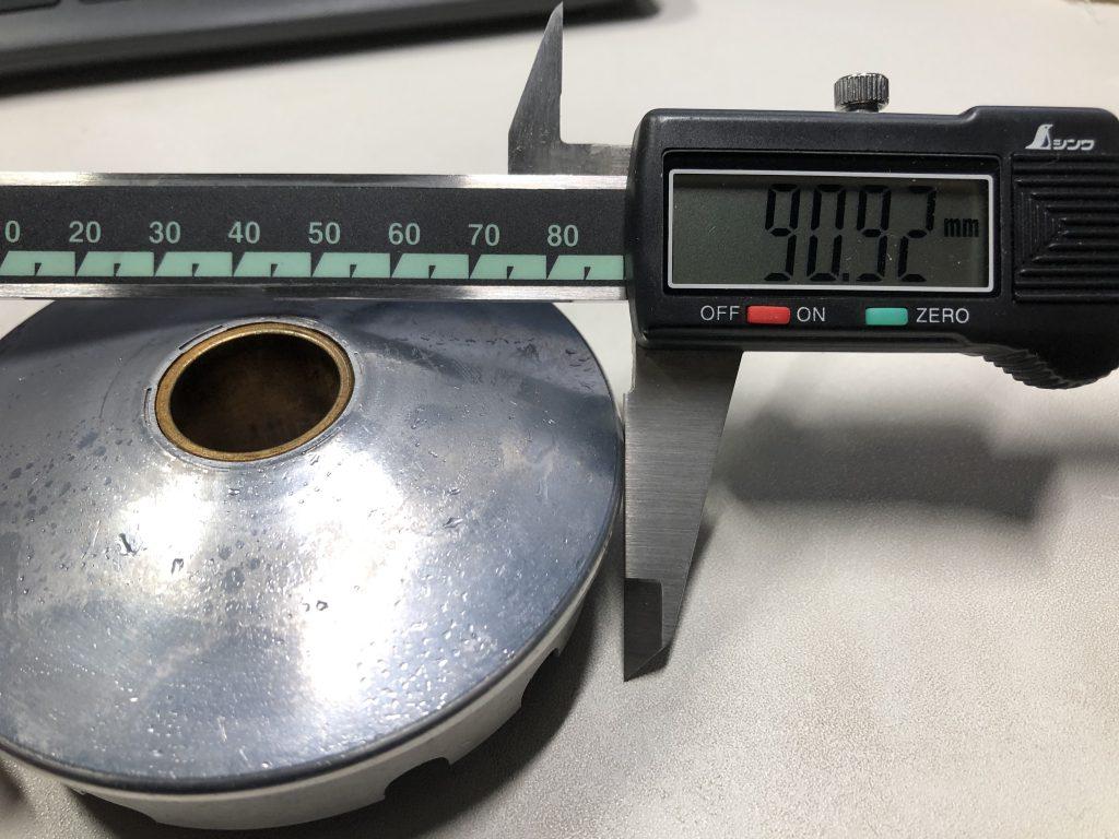 キタコ(KITACO) ハイスピードプーリーキット タイプX ライブDIOーSR/ZX等 488-1000010