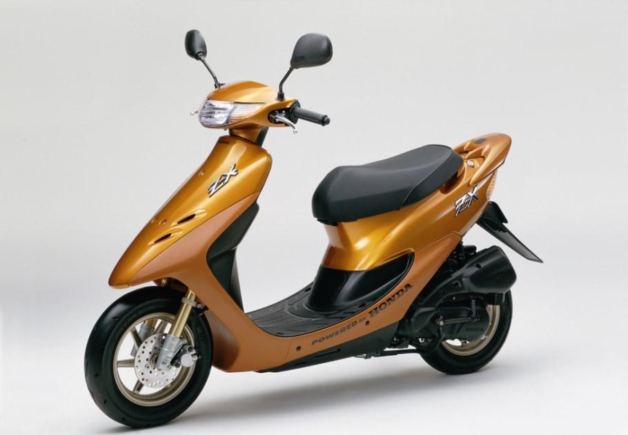 スポーティな50ccメットインスクーター「ホンダ Dio ZX」の機能の向上を図るとともに新色を追加し発売